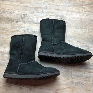 Ugh women's classic short black boots